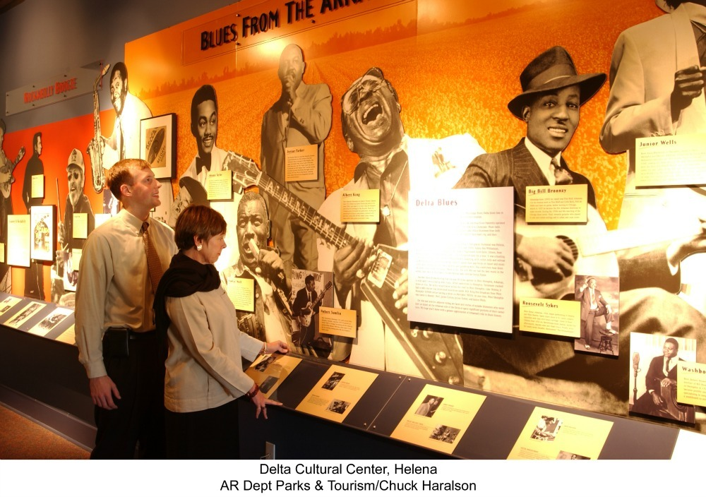 Delta Cultural Center music exhibit